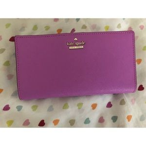 Kate Spade Stacy Bifold Saffiano Wallet